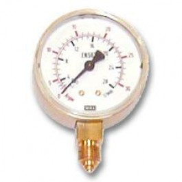 Arbeitsdruckmanometer (Argon-CO2)