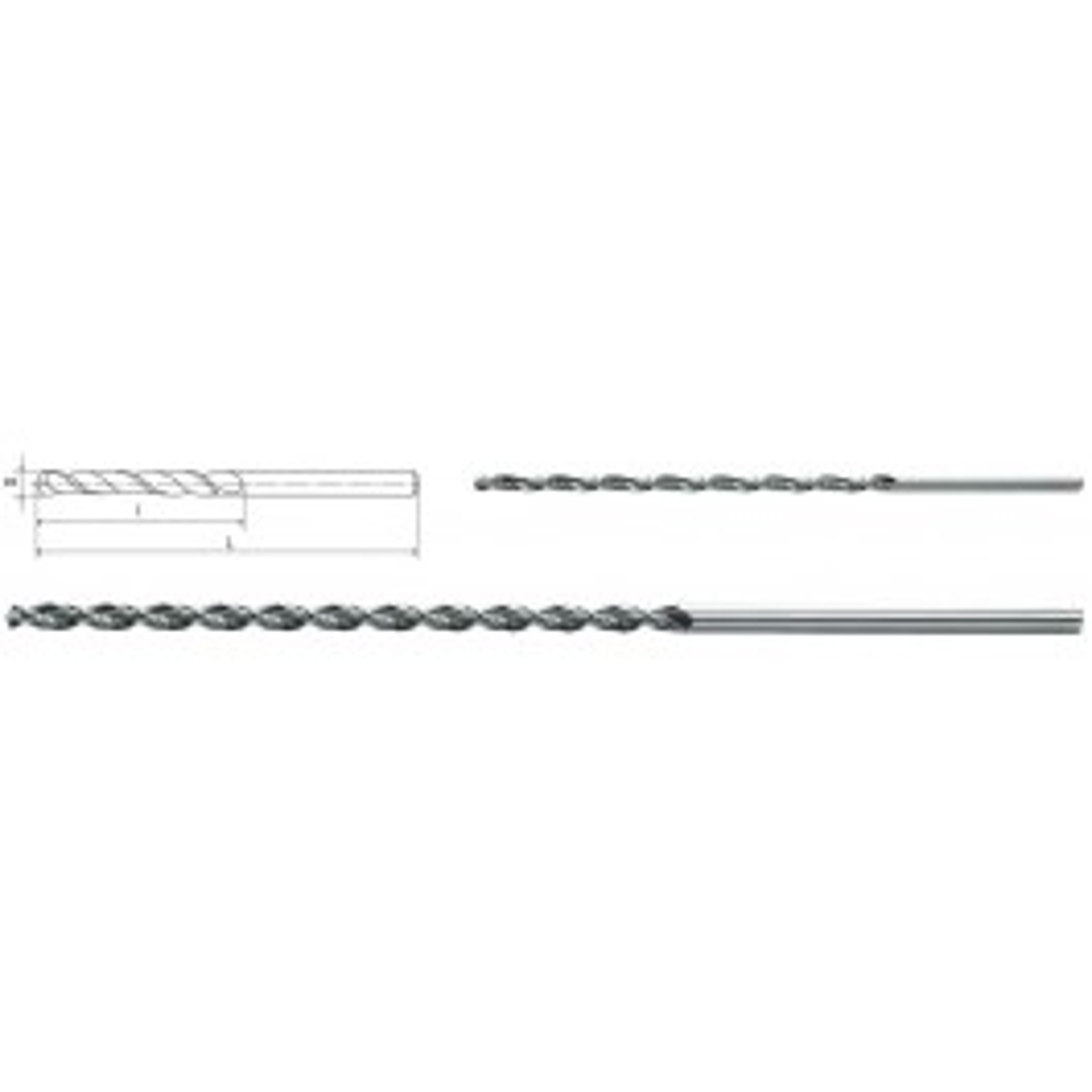 HSS-Spiralbohrer DIN 1869
