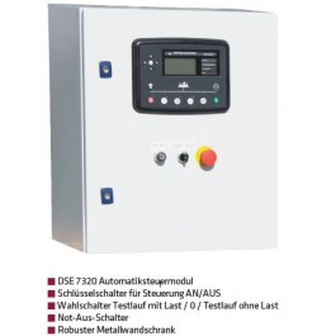 START-STOPP-AUTOMATIK DSE 7320, 125A