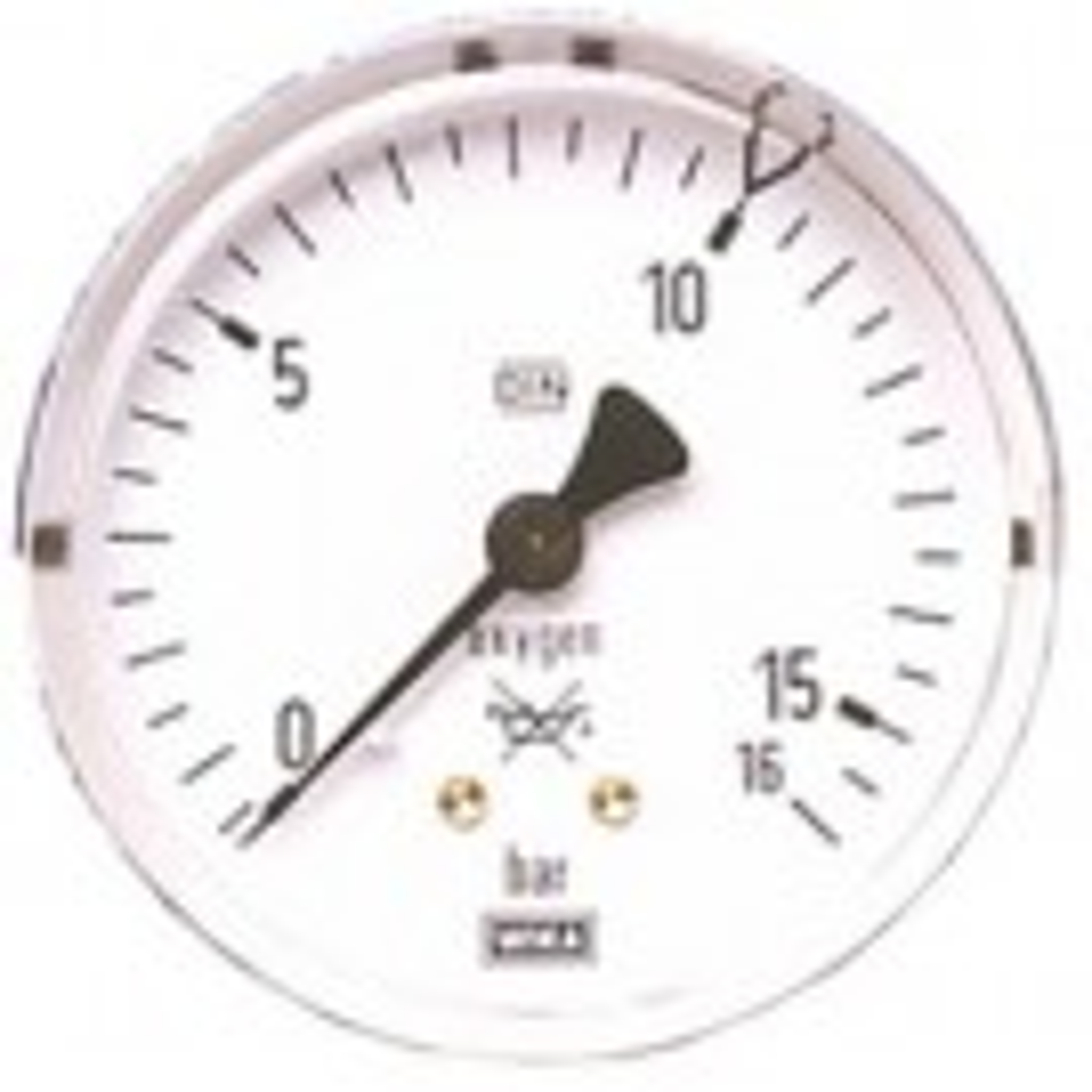 Arbeitsdruckmanometer (Sauerstoff)